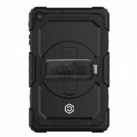 Casecentive Handstrap Pro Hardcase mit Griff Galaxy Tab A 10.1 2019 schwarz