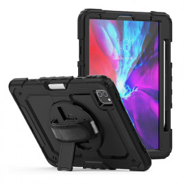 "Casecentive Handstrap Pro Hardcase mit Griff iPad Pro 12.9"" 2020 schwarz"