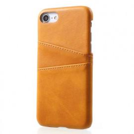 Casecentive Leder Wallet Back Case iPhone 7 / 8 / SE 2020 beige