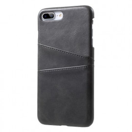 Casecentive Leder Wallet Back Case iPhone 7 / 8 Plus Schwarz