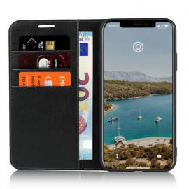 Casecentive Lederhülle Wallet Luxe iPhone 11 Pro Max Schwarz
