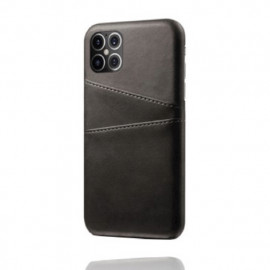 Casecentive Leren Wallet Back Case iPhone 12 Pro Max schwarz