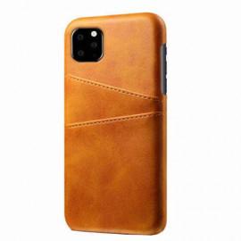 Casecentive Leder Wallet Backcase iPhone 11 Pro Max beige