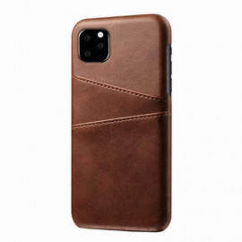 Casecentive Leder Wallet Backcase iPhone 11 braun
