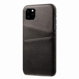 Casecentive Leder Wallet Backcase iPhone 11 schwarz