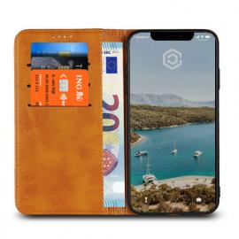 Casecentive PU Lederhülle iPhone XS Max beige