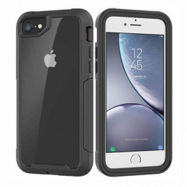 Casecentive Shockproof case iPhone 6 / 7 / 8 clear