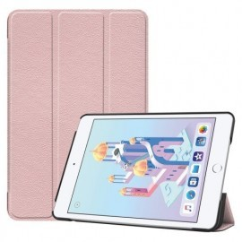 Casecentive Smart Leder Foliohülle iPad Mini 4 / 5 rosa