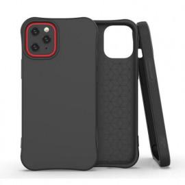 Casecentive umweltfreundliche Handyhülle / Eco TPU Hülle iPhone 12 schwarz