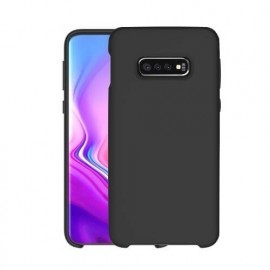 Casecentive Silikonhülle Galaxy S10 schwarz