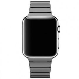 Casecentive Edelstahlarmband dünn Apple Watch 42 / 44 mm Schwarz