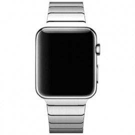 Casecentive Edelstahlarmband dünn Apple Watch 42 / 44 mm Silber