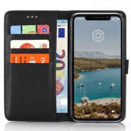 Casecentive PU Leder Wallet Case iPhone XR schwarz