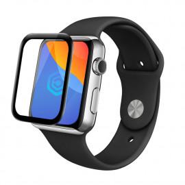 Casecentive 3D Full Cover Glas Displayschutzfolie Apple Watch 44mm