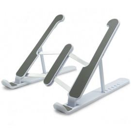 Casecentive Aluminium Foldable Laptop Stand weiß