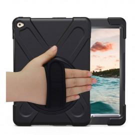 Casecentive Handstrap 360 mit Griff iPad 2017 / 2018 schwarz