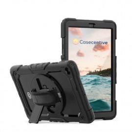 Casecentive Handstrap Pro Hardcase mit Griff Galaxy Tab A 8.4 2020 schwarz