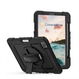 "Casecentive Handstrap Pro Hardcase mit Griff iPad Pro 11"" 2021 / 2020 / 2018 schwarz"