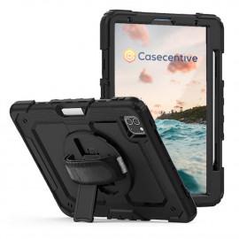 "Casecentive Handstrap Pro Hardcase mit Griff iPad Pro 12.9"" 2021 / 2020 / 2018 schwarz"
