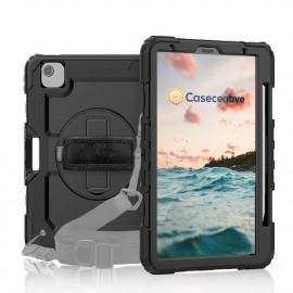 Casecentive Handstrap Pro Hardcase iPad Air 10.9 2020 schwarz
