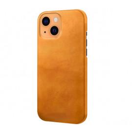 Casecentive Lederhülle iPhone 13 Mini tan