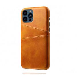 Casecentive Leder Wallet Back Case iPhone 13 Pro tan/braun