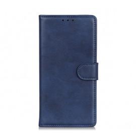 Casecentive Magnetic Leather Wallet Case iPhone 13 Pro blau