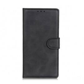 Casecentive Magnetic Leather Wallet Case iPhone 13 Pro schwarz