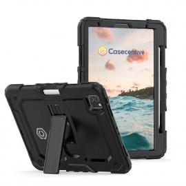 Casecentive Ultimate Hardcase iPad Pro 12.9 inch 2021 / 2020 / 2018 schwarz