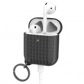 Catalyst Airpods Case mit Schlüsselanhänger schwarz