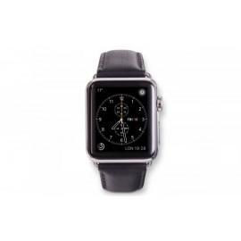 Dbramante1928 Kopenhagen Apple Watch Strap 38mm silber/schwarz