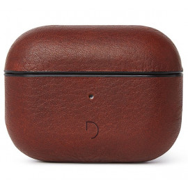 Decoded AirPod Pro Leather Case braun