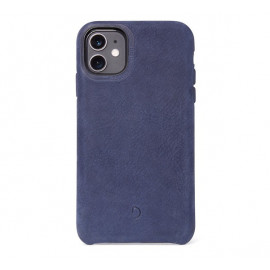 Decoded Bio Leather Case iPhone 11 blau