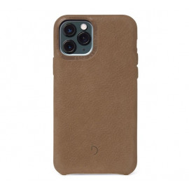 Decoded Bio Leather Case iPhone 11 Pro hellbraun