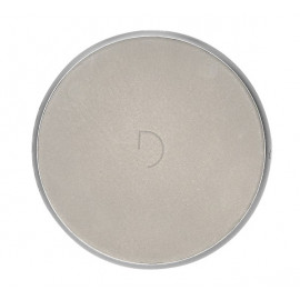 Decoded Leather QI Wireless Charger silber / grau