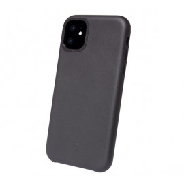 Decoded Leather Case iPhone 11 schwarz