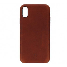 Decoded Leather Case iPhone XR braun