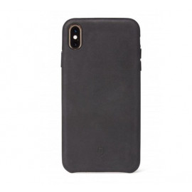Decoded Leather Case iPhone XR schwarz
