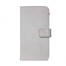 Decoded Leren Wallet Case iPhone 11 grau