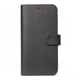 Decoded Leder Wallet Case iPhone 11 Pro Max schwarz