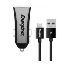 Energizer Dual Car Charger mit Lightning Kabel 3.4A schwarz