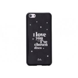 Fab Star Studs book case iPhone 5(S) blauw