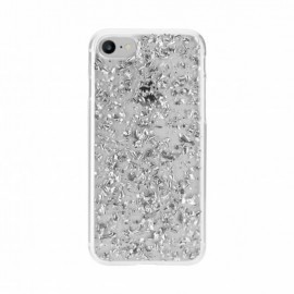FLAVR iPlate Flakes Case iPhone 6(S)/7 Silber