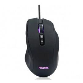 Fourze GM110 Gaming Maus schwarz