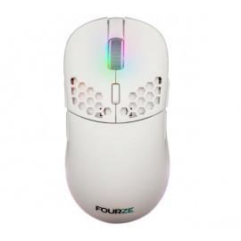 Fourze GM900 drahtlose Gaming Maus Weiß