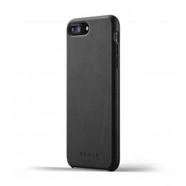 Mujjo Leather Case iPhone 7 / 8 Plus schwarz