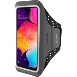 Mobiparts Comfort Fit Sport Armband Samsung Galaxy A40 (2019) schwarz