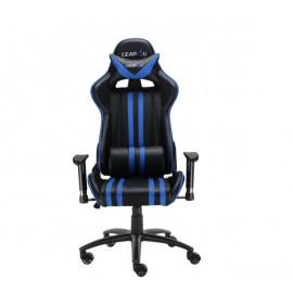 Gear4U Elite Gaming Stuhl Blau / Schwarz