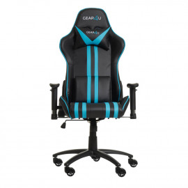 Gear4U Elite Gaming Stuhl Blau / Schwarz