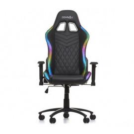 Gear4U beleuchteter Gaming Stuhl RGB Schwarz
